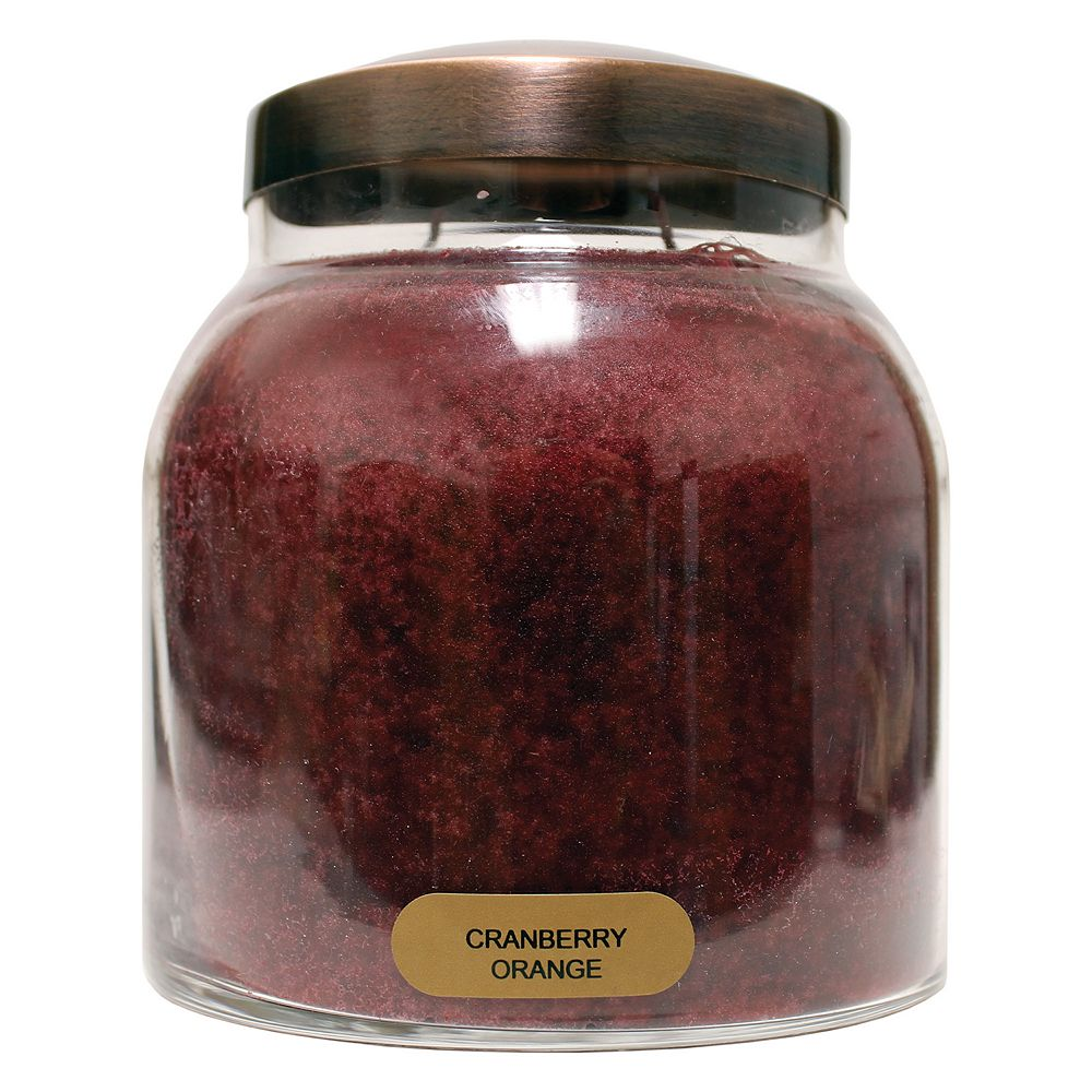 A Cheerful Giver Cranberry Orange 34-oz. Papa Jar Candle