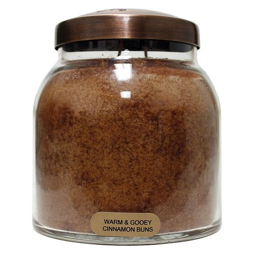 A Cheerful Giver Warm & Gooey Cinnamon Buns 34-oz. Papa Jar Candle