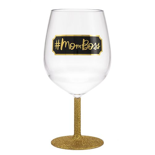 Hallmark #MOMBOSS Jumbo Wine Glass