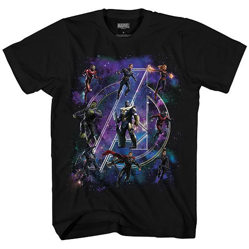 Boys 8-20 Marvel Comics Avengers Logo Tee