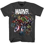 Boys 8-20 Marvel Comics Avengers Team Tee