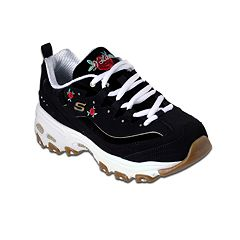 newest 9c51c 591f6 Skechers D Lites Rose Blooms Women s Sneakers