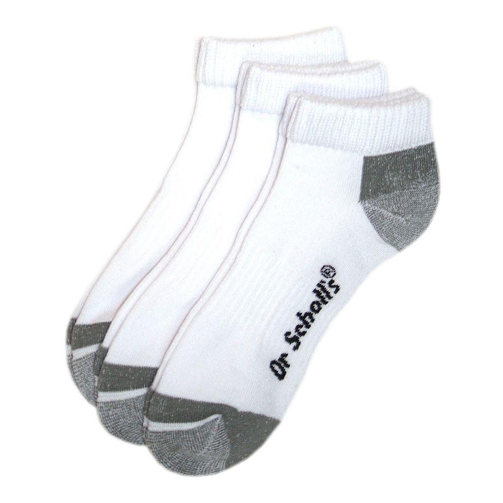 Men's Dr. Scholl's 3-pk. Blister Guard Ankle Socks