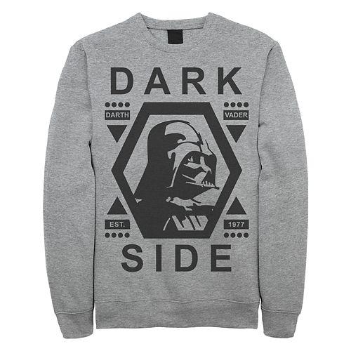 Junior's Star Wars Dark Side Vader Crew Fleece