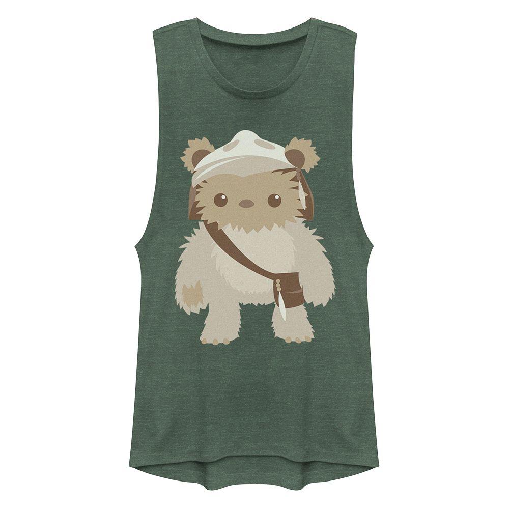Junior's Star Wars Ewok Cutie Muscle Tank