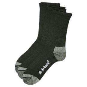 Men's Dr. Scholl's 3-pk. Blister Guard Crew Socks