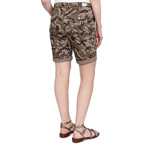 Women's Seven7 Cuffed Chino Bermuda Shorts