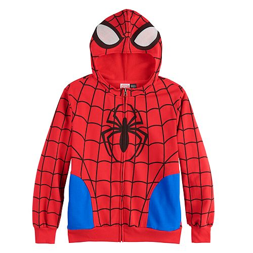 Boys 6-20 Marvel Spider-Man Costume Hoodie