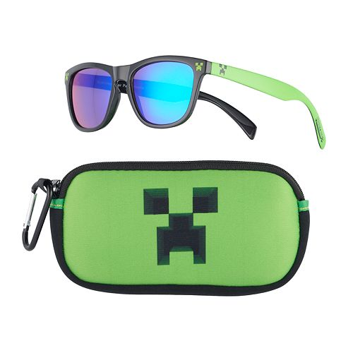 e847b9e90ecc4 Boys Pan Oceanic Minecraft Sunglasses   Case