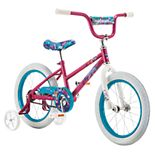 """Pacific Cycle Girls' Gleam 16"""" Bicycle with Training Wheels"""