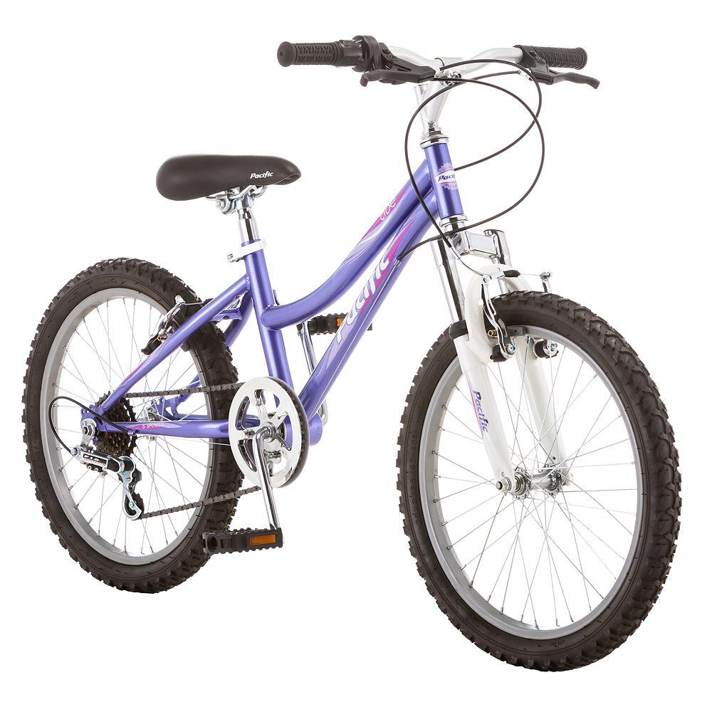 """Pacific Cycle Girls' 20"""" Mountain Bike"""