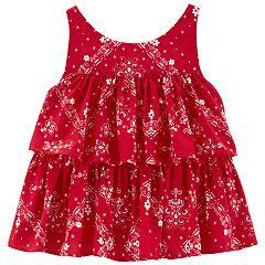 Baby Girl OshKosh B'gosh® Tiered Tank Top