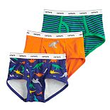 Boys 4-20 Carter's 3-Pack Cotton Briefs
