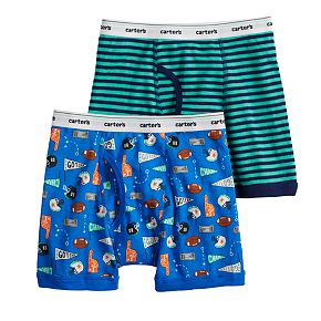 Boys 4-20 Carter's 2-Pack Cotton Boxers