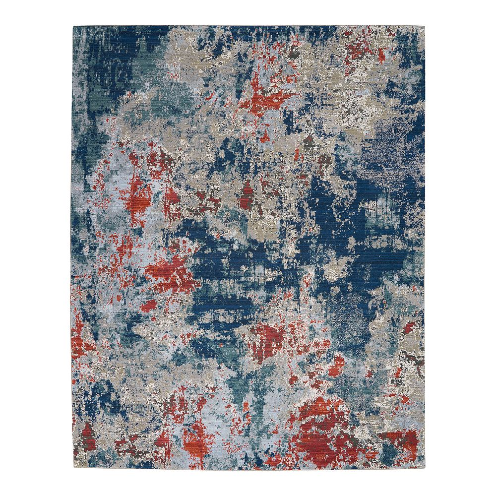 Nourison Artworks Tempo Wool Blend Rug