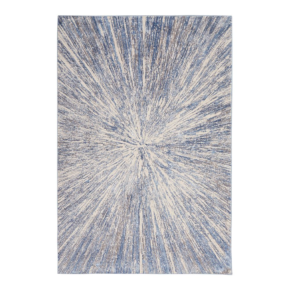 Nourison Sleek Textures Lakeview Rug