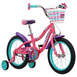 Schwinn 16-inch Girls SmartStart Jasmine Sidewalk Bicycle