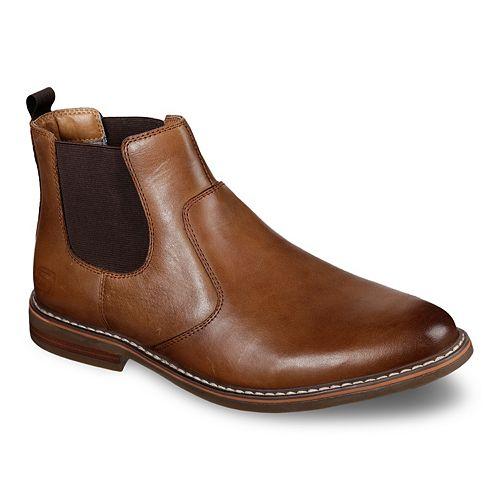 Skechers Bregman Morago Men's Chelsea Boots by Skechers