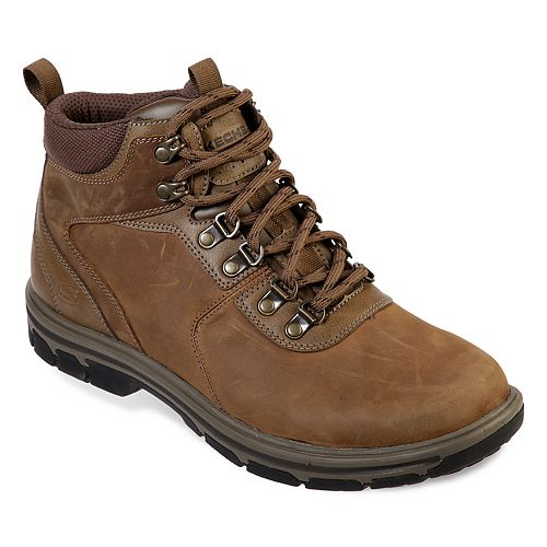 Skechers® Relaxed Fit Segment Mestor Men's Waterproof Hiking Boots