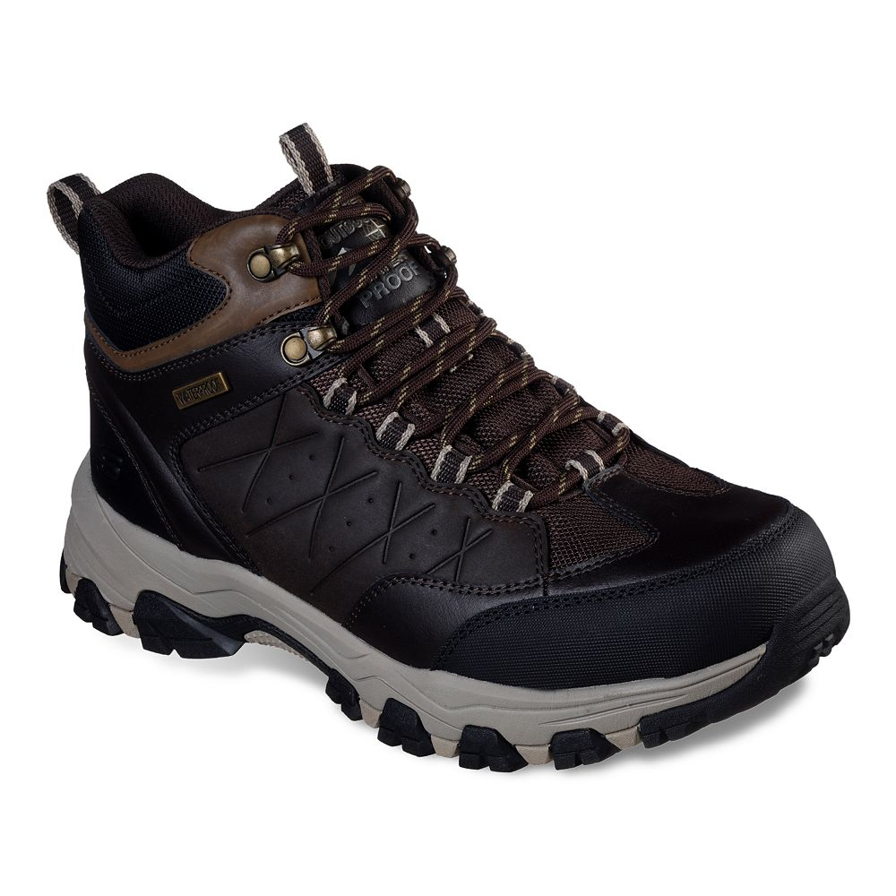 Skechers® Relaxed Fit Selmen Telago Men's Waterproof Hiking Boots