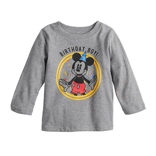 Toddler Boy Disney's Mickey Mouse Long-Sleeve Graphic Tee By Jumping Beans®
