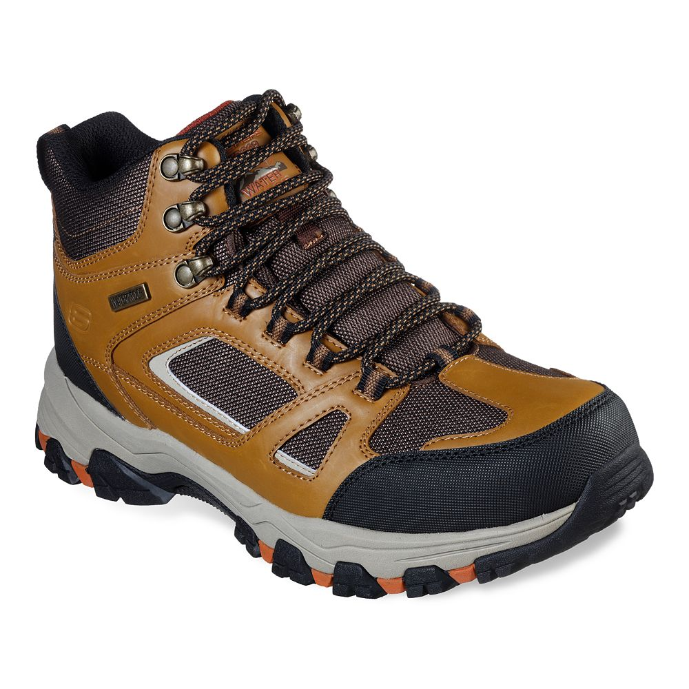 Skechers® Relaxed Fit Selmen Regram Men's Waterproof Hiking Boots