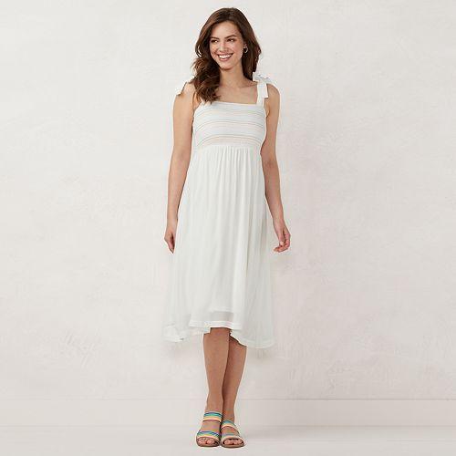 Women's LC Lauren Conrad Smocked Dress