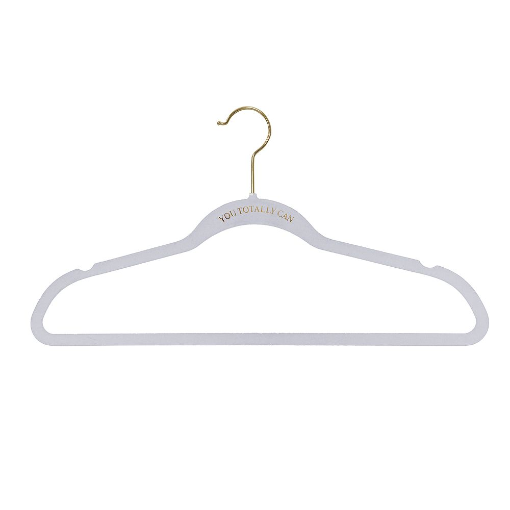 "Macbeth Collection 21 Pack ""Dress to Impress"" Slim Velvet Hangers"