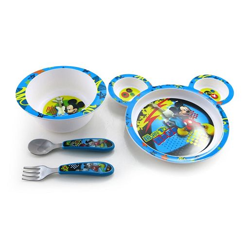 Disney Mickey Mouse & Friends4-pc. Feeding Set by The First Years
