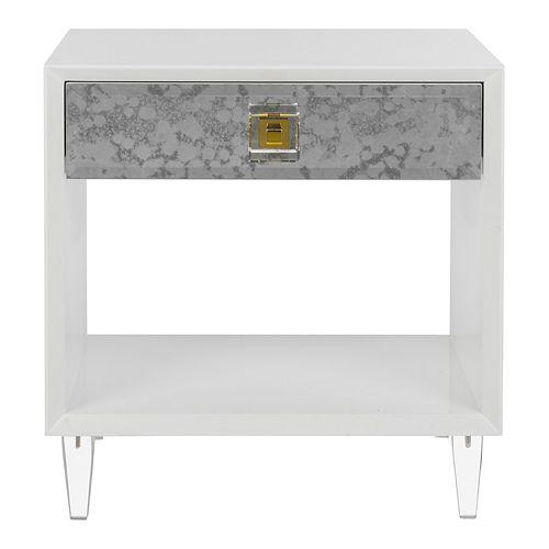 Safavieh Isidra Acrylic Trunk End Table