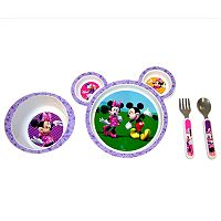 Disney Mickey Mouse & Friends Minnie Mouse 4 pc Feeding Set by The First Years