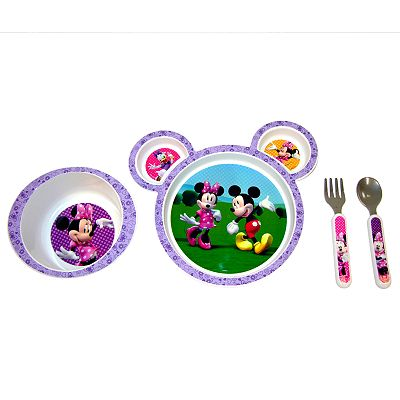 Disney Mickey Mouse & Friends Minnie Mouse 4-pc. Feeding Set by The First Years