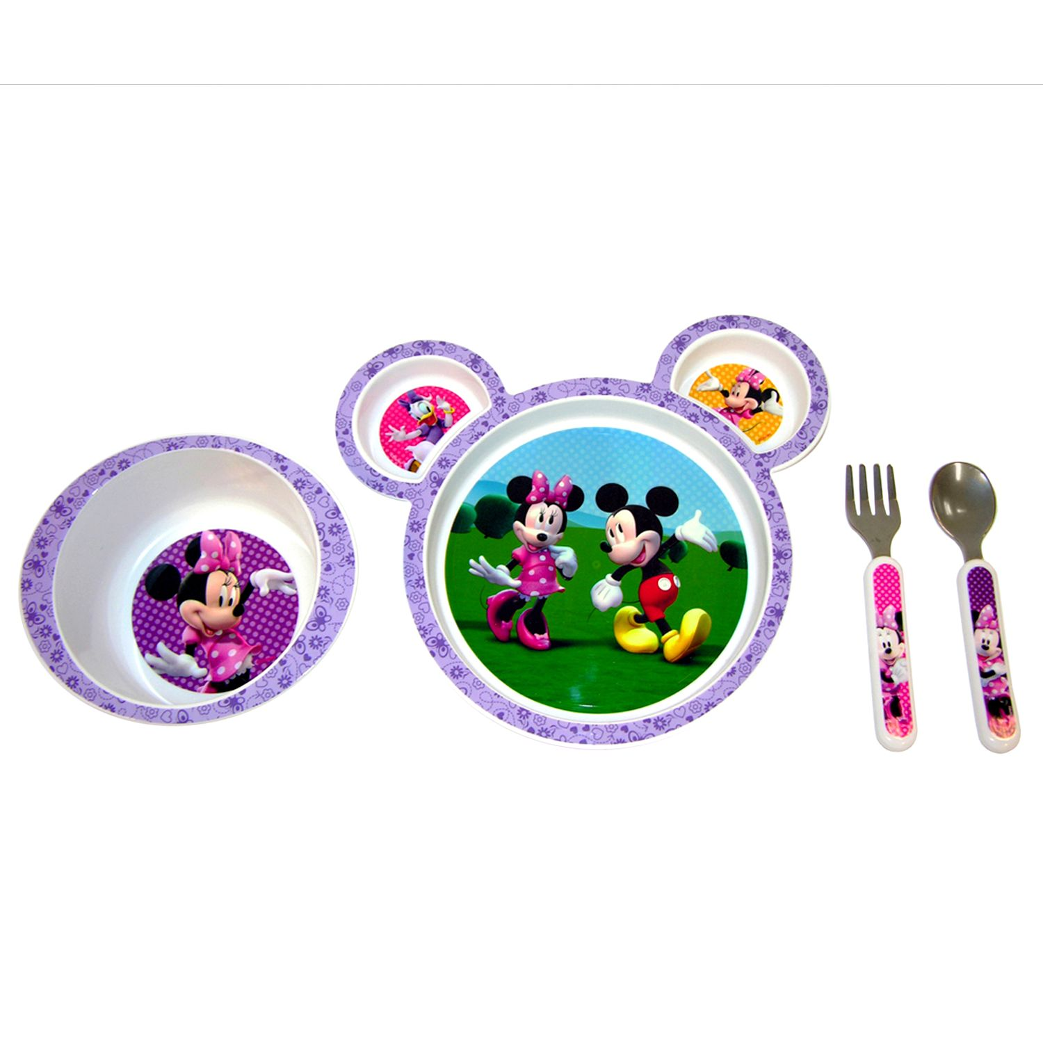 Disney Mickey Mouse u0026 Friends Minnie Mouse 4-pc. Feeding Set by The First Years  sc 1 st  Kohlu0027s & Disney Mickey Mouse u0026 Friends Minnie Mouse 4-pc. Feeding Set by The ...