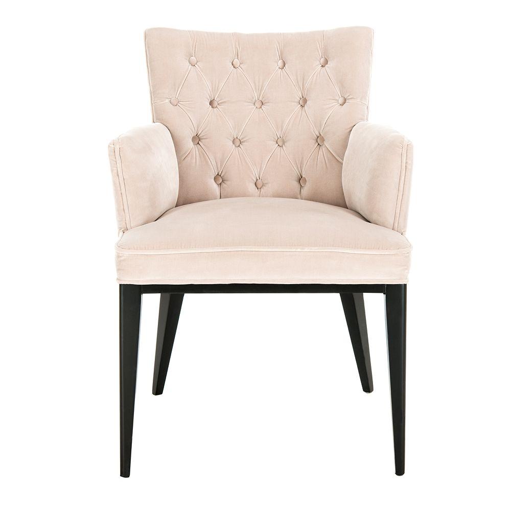 Safavieh Marcene Velvet Arm Chair