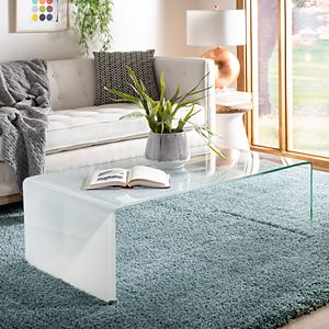 Safavieh Crysta Ombre Glass Coffee Table