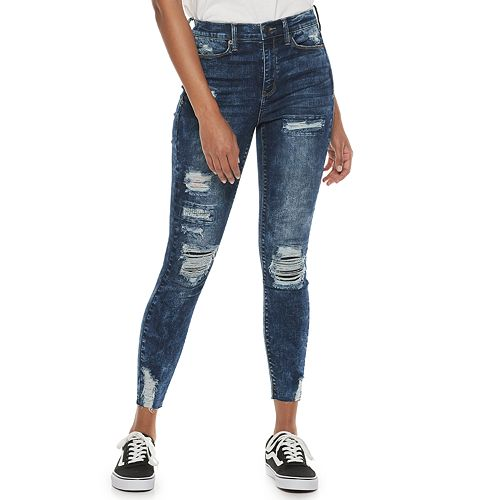 Juniors' Mudd® High-Rise Button Fly Jeggings