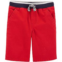 Boys 4-12 Carter's Pull On Knit Shorts