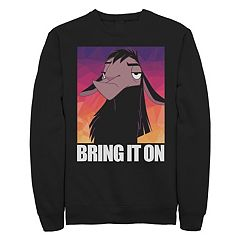 Juniors Disney's The Emperor's New Grove Kuzco Bring It On Crew Fleece