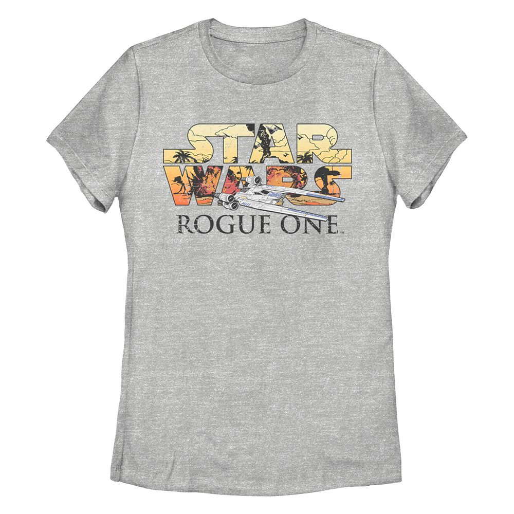 Juniors' Star Wars Rogue One Missy Crew Tee
