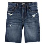 Boys 4-14 OshKosh B'gosh® Raw Hem Vintage Washed Denim Shorts