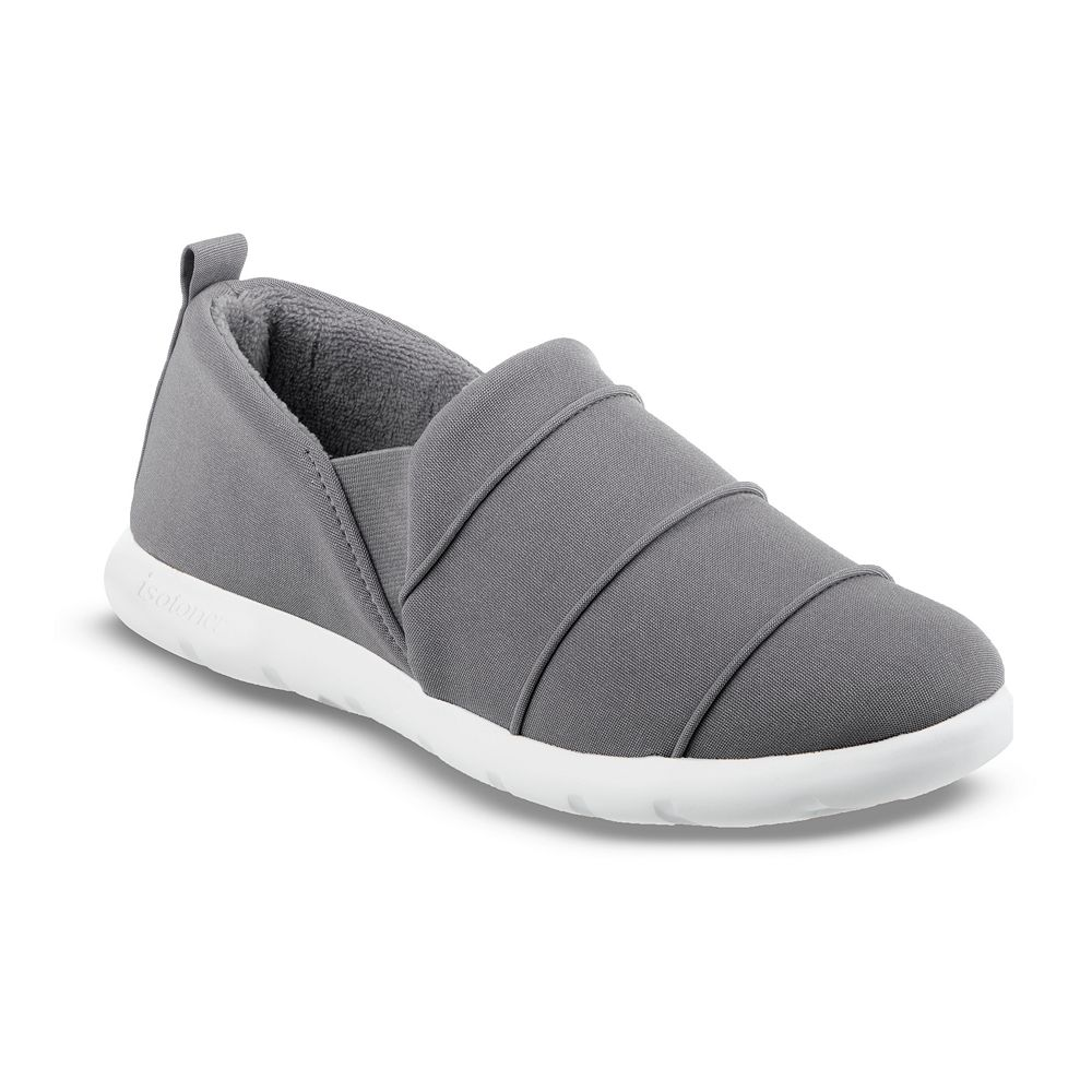 Zenz From isotoner Women's Pintuck Closed Back Slip-ons