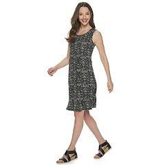 Women's Croft & Barrow® Pintuck Tank Dress