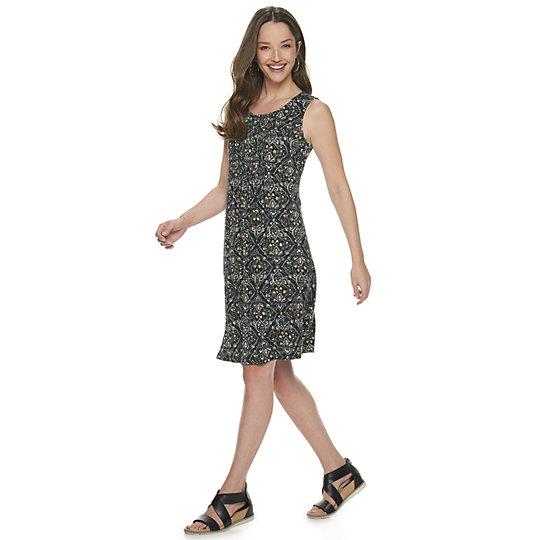 c90994e3e Women's Croft & Barrow® Pintuck Tank Dress