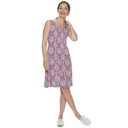 Women's Croft & Barrow® Pintuck Tank Dress