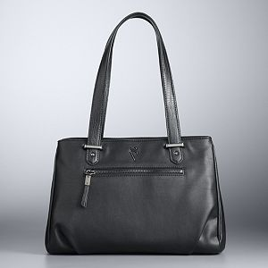 Simply Vera Vera Wang Bevan Double-Entry Satchel
