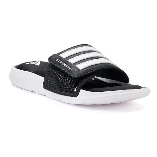 new product e7a43 25c47 adidas Superstar 3G Men's Slide Sandals