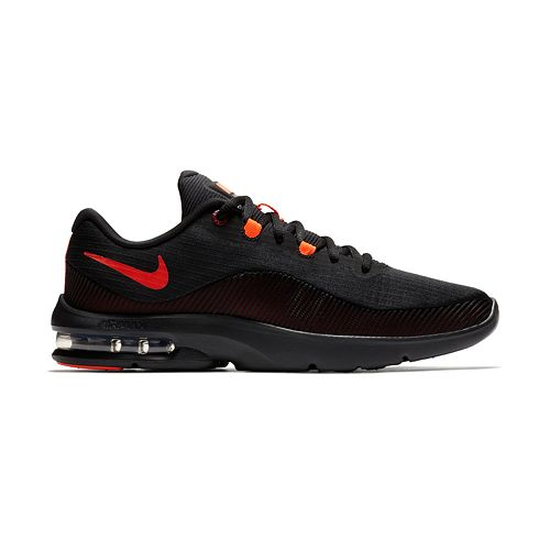 outlet store 1c946 5c01d nike air max advantage 2 men s running shoes black crimson Nike Air Max  Advantage 2 Men s Running Shoes