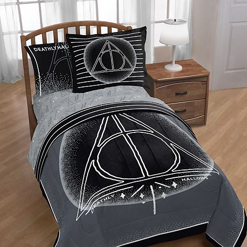 Harry Potter and the Deathly Hallows Twin Bedding Set