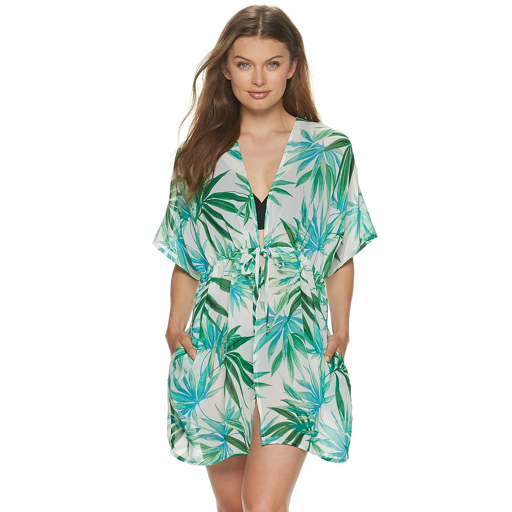 Women's Apt. 9® Cinched-Waist Kimono Cover-Up
