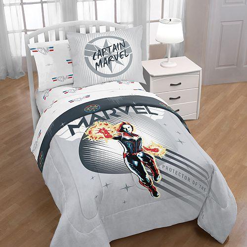 Captain Marvel Cool Energy Full/Twin Bedding Set